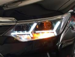 LED фары Toyota Camry 50 / 55 2014-2017 Lambo Style