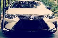 Передний бампер Toyota Camry 50 / 55 Lexus Style