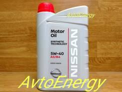 Nissan. 5W-40, синтетическое, 1,00л.