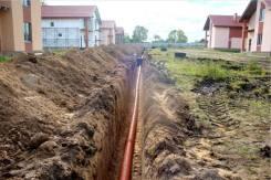 Подвод коммуникаций к Вашему дому. Вода, канализация.