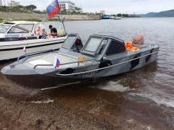 Аренда катера. 4 человека, 50км/ч