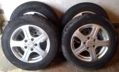"""Комплект колёс (4шт) на литых дисках Manaray Euro 195/65/R15. 6.0x15"""" 5x114.30 ET50"""