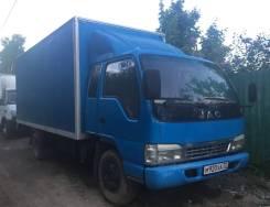 JAC. HFC1061KR1 фургон 2,8 т., 3 856куб. см., 2 800кг., 4x2