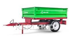 Kerland. Прицеп 1,5 - 3,5 тонны для трактора с ПСМ, 1 500кг.