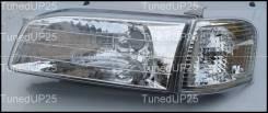 Фары (оптика) хрустальные Toyota Sprinter Carib 1999