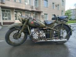 Урал М-72. 750куб. см., исправен, птс, без пробега