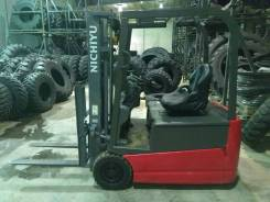 Nichiyu. Электрический погрузчик 1.5 тонн FBT15, 1 500кг., Электрический