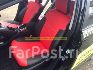 Чехлы на сиденье. Toyota Prius, ZVW30, ZVW30L Subaru Bistro. Под заказ