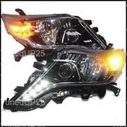 Фары (оптика) диодные рестайлинг Toyota Land Cruiser Prado 150 2014 +