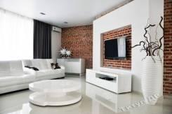 4-комнатная, улица Мусоргского 29б. Седанка, агентство, 180кв.м. Дизайн-проект