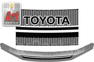 Дефлектор капота. Toyota Highlander, ASU40, GSU40, GSU40L, GSU45, GVU48 1ARFE, 2GRFE, 2GRFXE