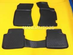 Модельные коврики 3D ванночки Subaru Forester SH (07-12) Правый руль