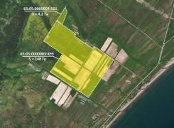 Земельный участок СХ назначения о. Сахалин. 1 525 625кв.м., собственность