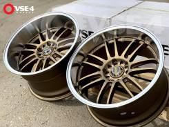 "RAYS Volk Racing RE30. 9.5/10.5x18"", 5x114.30, ET20/25, ЦО 73,1 мм."