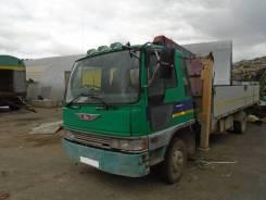 Hino Ranger. Бортовой грузовик c манипулятором Unic, 7 500куб. см.