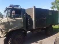 ГАЗ 66. Продается грузовик ГАЗ66 с будкой. Оборудованый под охоту., 4 750куб. см., 5 000кг.