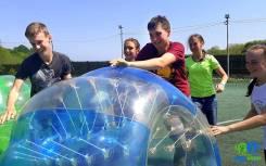 Бампербол - корпоративы и тимбилдинг в шарах! Драйв и экшн обеспечены!
