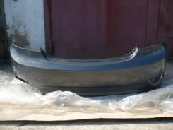 Задний бампер в цвет (серый мет. /SAE) Hyundai Solaris Седан 10-14г