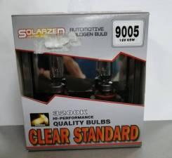 Комплект ламп галогенных Solarzen HB3(9005) 12V65W СL,прозрачное стекло HB3 (9005) 12V65W CL