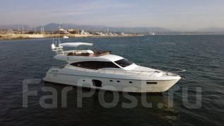 Аренда яхты VIP-класса Ferretti 630 Luxury. 10 человек, 60км/ч
