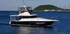 Аренда катера VIP класса 38 футов. Рыбалка. Праздники. Карпоративы. 12 человек, 25км/ч