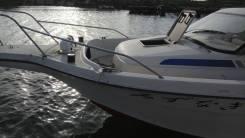 Аренда катера, рыбалка, кальмар, выезд на острова. 6 человек, 45км/ч
