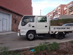 Isuzu Elf. Продается грузовик двухкабинник 4WD Isuzu ELF, 3 000куб. см., 1 500кг., 4x4