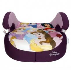 """Детское автокресло """"SIGER Disney"""" Принцессы KRES2673 фиолетовый, 6-12 лет, 22-36, группа 3"""