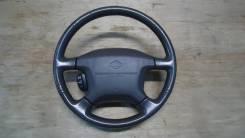 Руль с airbag на Nissan Elgrand AVWE50, AVE50 QD32ETI. Nissan Elgrand, AVE50, AVWE50 Двигатель QD32ETI