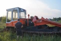 Лестехком МСН-10-04. В Самарской ОБЛ! Трактор лесопромышленный трелевочный гусеничный МСН-1