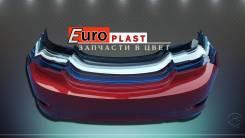 Задний бампер Хендай Солярис 11-14г. (sedan)