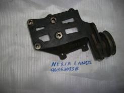 Крепление компрессора кондиционера. Chevrolet Lanos, T100 Daewoo Nexia, KLETN Daewoo Lanos L13, L43, L44, LV8, LX6, A15MF, A15SMS, F16D3, G15MF