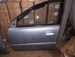 Дверь Передняя Левая Киа Рио 2 2006-бу в сборе Серебро 760031G010
