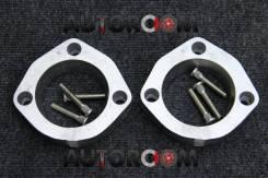 Алюминиевые проставки для поднятия авто 25мм (Комплект зад)