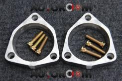 Алюминиевые проставки для поднятия авто 25мм (Комплект перед)