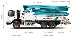 Everdigm. ECP38CX-5 бетонанасос, 38,00м. Под заказ