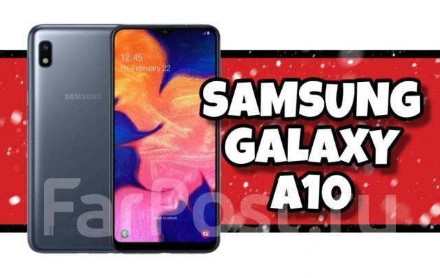 Samsung Galaxy A10. Новый, 32 Гб, 3G, 4G LTE, Dual-SIM