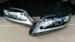 Фары Toyota Camry V40 2009-2011 комплект R+L, черные, в стиле Lexus
