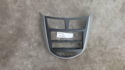 Консоль в торпедо центральная [847414L000] для Hyundai Solaris I [арт. 234136]