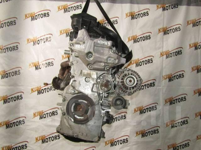Двигатель Ниссан Кашкай 1.6 бензин HR16DE