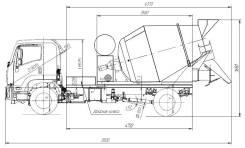 Isuzu. 3,5 м3 (АБС) Автобетоносмеситель Миксер Бетоновоз FVR34 18 тонн, 7 790куб. см., 3,50куб. м. Под заказ