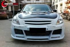 Бампер передний. Nissan Skyline V36/Infiniti G25 2010-2014