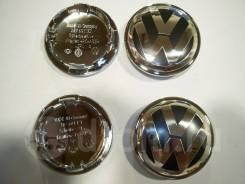 Колпачки диска ЦО (заглушка диска) центрального отверстия Volkswagen хром обод
