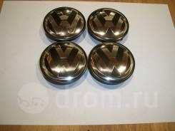 Колпачки диска ЦО (заглушка диска) центрального отверстия Volkswagen черный обод