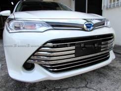 Накладка на бампер. Toyota Corolla Axio, NZE161, NZE164 Toyota Corolla Fielder, NKE165G, NRE161G, NZE161, NZE161G, NZE164, NZE164G, ZRE162G 1NZFE, 1NZ...