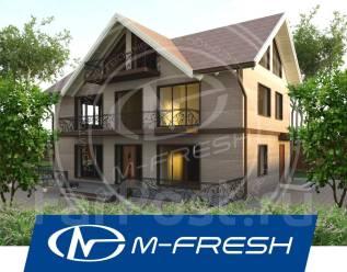 M-fresh Argentum (Проект яркого и современного дома! Посмотрите! ). 200-300 кв. м., 2 этажа, 5 комнат, бетон