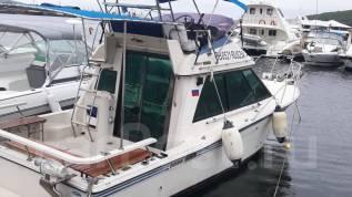 Аренда катера 27 футов - отдых, рыбалка. 8 человек, 45км/ч