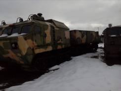 Витязь ДТ-30. В Воркуте! Витязь Гусеничный транспортер ДТ-5ПКУ-1, 2007 гв