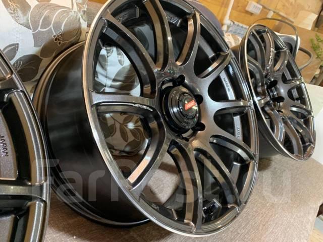 "Диски RAYS Gram Lights 57Trans-X, шины Nokian Hakka Black 2 SUV. 9.0x20"" 6x139.70 ET20"