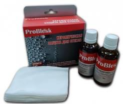 Керамическое гидрофобное покрытие для стекла, ProBlesk (50мл+50мл) PB1250